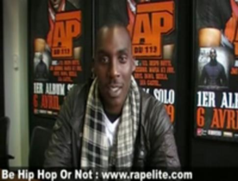 Ap du 113 - Interview DISCRET pour Rapelite.com