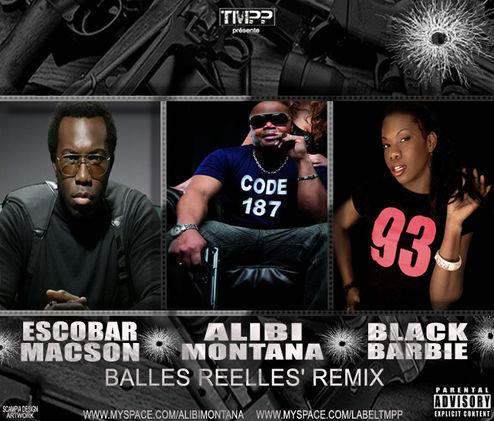 Alibi Montana - Balles Relles feat Escobar Macson, Black Barbie