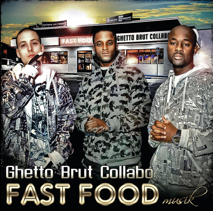 Ghetto Brut Collabo - Ghetto ma life