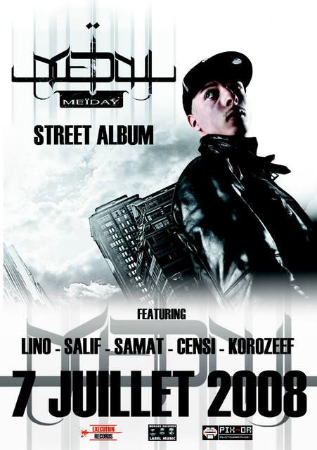 Meiday - STREET CD