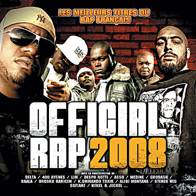 COMPIL - OFFICIAL RAP 2008