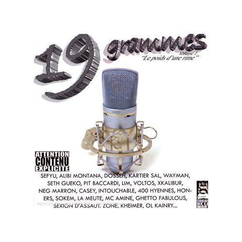 19 Grammes Vol.1 - LE POIDS D UNE RIME