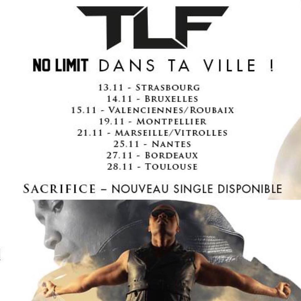 Dates de la tournée de TLF