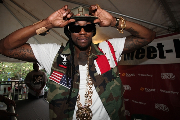 2 Chainz arrêté à Los Angeles en possession de marijuana