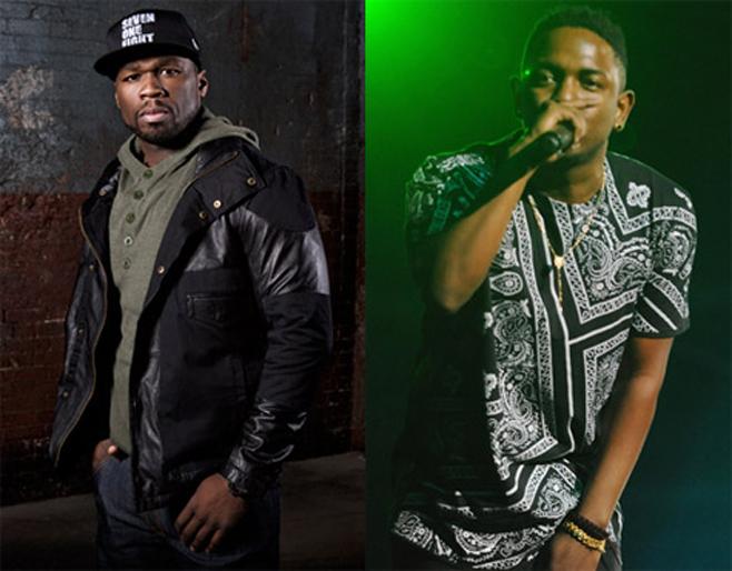50 Cent apprécie la démarche de clash de Kendrick Lamar