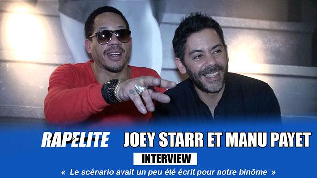 Joey Starr et Manu Payet