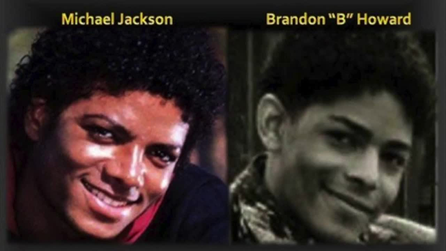 MICHAEL JACKSON BRANDON HOWARD