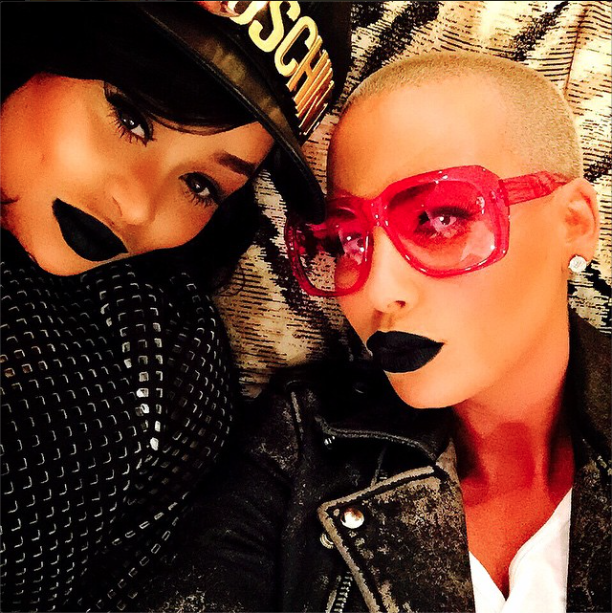 Blac Chyna et Amber Rose