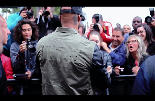 Booba, la vidéo des coulisses de sa venue à Cannes