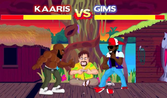 Kaaris VS Maître Gims Budokai Rap Game (Round 2)