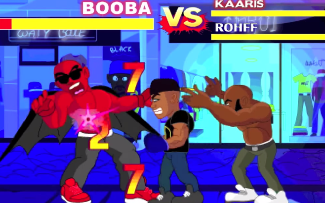 Booba VS Kaaris et Rohff Budokai Rap Game