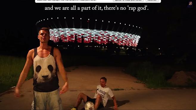 Un rappeur polonais essaie d'imiter la vitesse de rap à Eminem en 7 langues