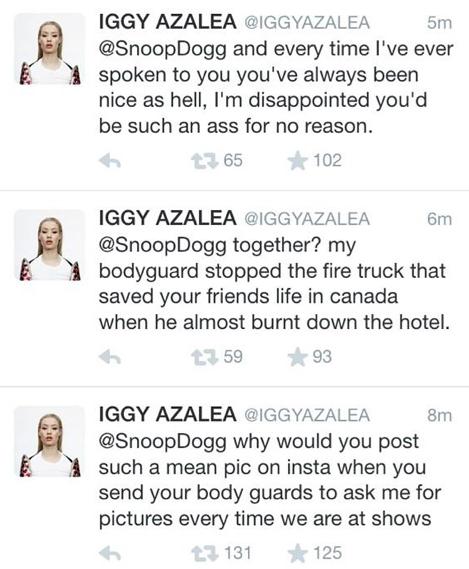 Iggy sur Twitter