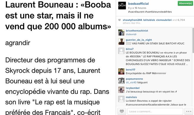 Booba Instagram