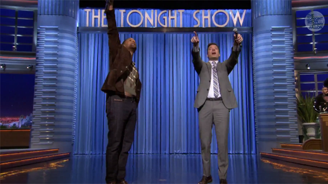 Will Smith Jimmy Fallon