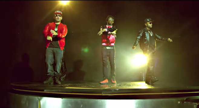 "DJ Drama collabore avec Jeezy, Young Thug, et Rich Homie Quan pour le clip ""Right Back"""