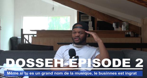 Dosseh - Même si tu es un grand nom de la musique le business est ingrat