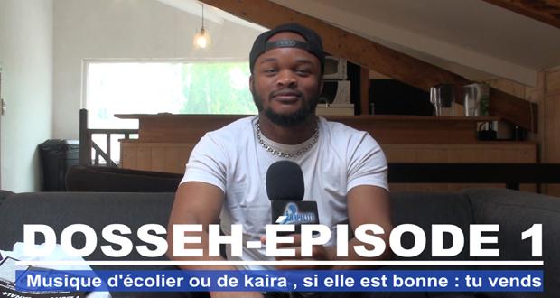 Dosseh : Musique d'écolier ou de kaira, si elle est bonne, tu vends