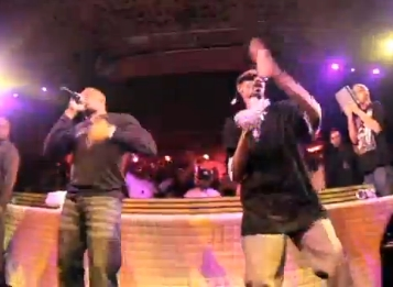 Dr Dre,Snoop Dogg, Warren G, Kurupt et Daz Live a Cannes