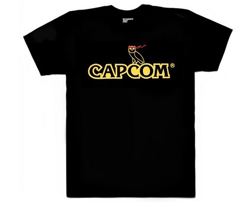 Drake ovo capcom t-shirt