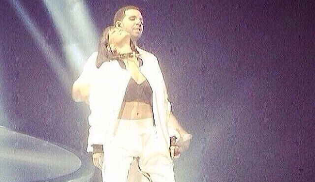 Drake et Rihanna à Bercy