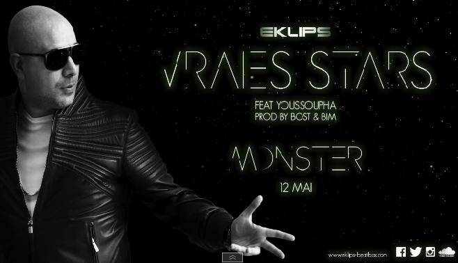 """Eklips nous dévoile son nouveau morceau """"Vraies Stars"""" Featuring Youssoupha"""