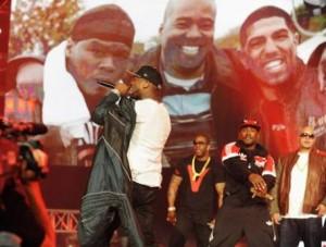 50 Cent et Fat Joe réunis sur scène