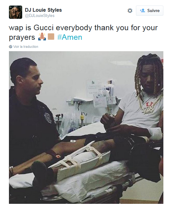 Fetty Wap, après son accident