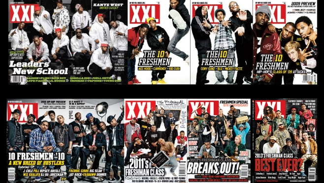 La liste des 12 talent 2014 découvert par le magazine XXL dévoilés