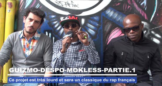 Guizmo Despo Mokless : Ce projet est très lourd et sera un classique du rap francais