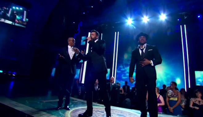 En vidéo, Hugh Jackman rappe aux côtés de TI et LL Cool J