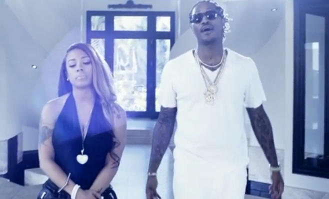 "Keyshia Cole invite Future pour son clip ""Love Letter"""