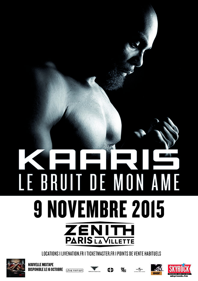 KAARIS - ZENITH DE PARIS