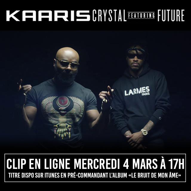Kaaris annonce le clip Crystal