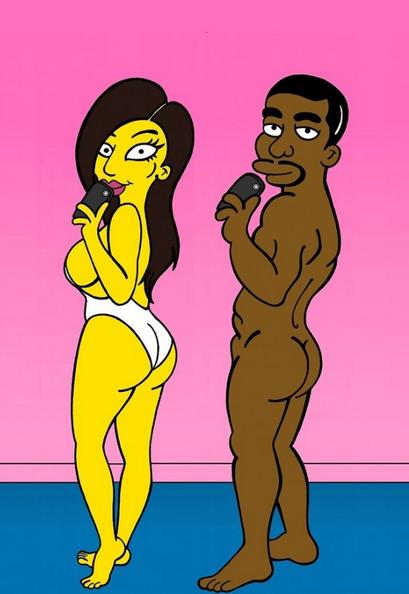 Kanye Simpson 2