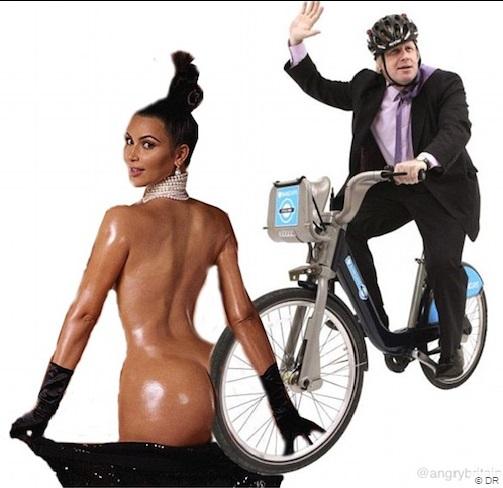 Kim Kardashian parodie paper 2