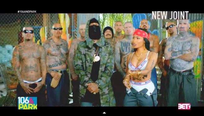 "Tyga, Nicki Minaj et Lil Wayne, leur nouveau clip ""Senile"""