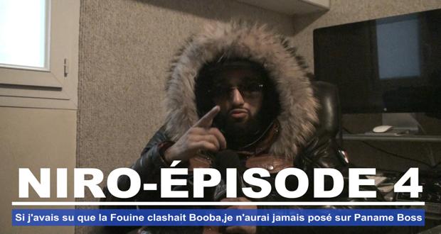Niro - Si j'avais su que La Fouine clashait Booba je n'aurai jamais posé sur Paname Boss