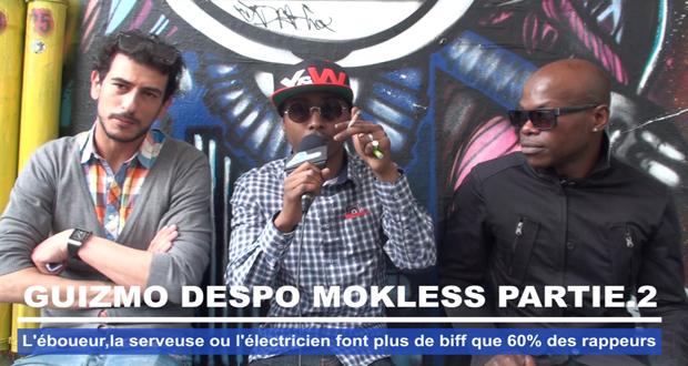 Guizmo Despo Mokless - L'éboueur ou la serveuse font plus de biff que 60% des rappeurs