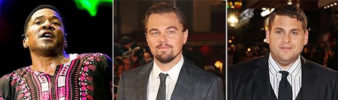 Leonardo DiCaprio et Jonah Hill