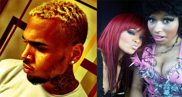 Nicki Minaj,Kendrick Lamar et Rihanna sur l'album X de Chris Brown