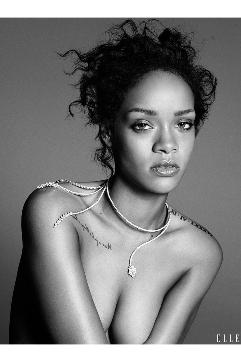 Rihanna Elle 2