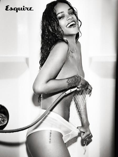 Rihanna Esquire