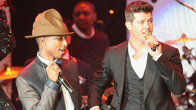 Robin Thicke et Pharrell Williams