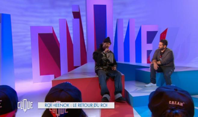 Mouloud Achour invite le Roi Heenok