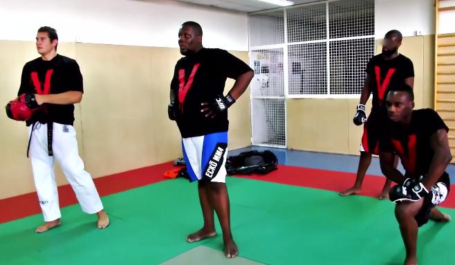 Vidéo : Maitre Gims & JR O Chrome pratiquent le MMA