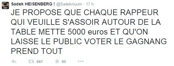 Sadek Tweet