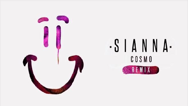 Sianna présente le remix du titre Cosmo