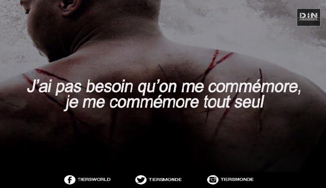 """Tiers Monde F/ Disiz et Youssoupha - Five Minutes A Slave """"Je n'ai pas besoin qu'on me commémore, je me commémore tout seul"""""""