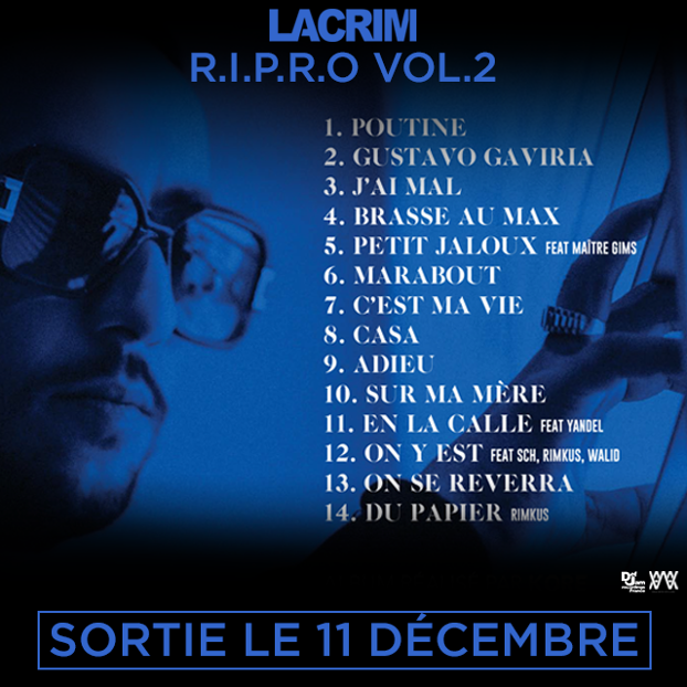 Tracklist R.I.P.R.O Volume 2